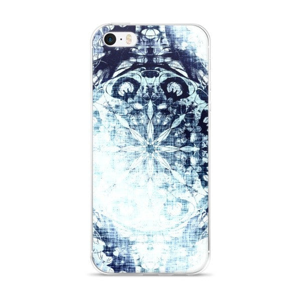 Cold blue iPhone case - Hutsylife - 1