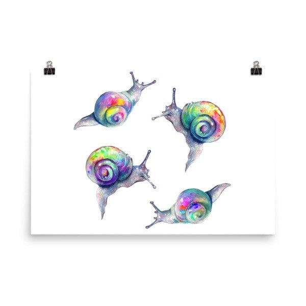 Snail life Poster - Hutsylife - 7