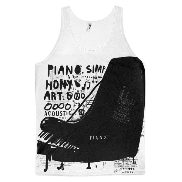 Piano art  Classic fit men's tank top - Hutsylife