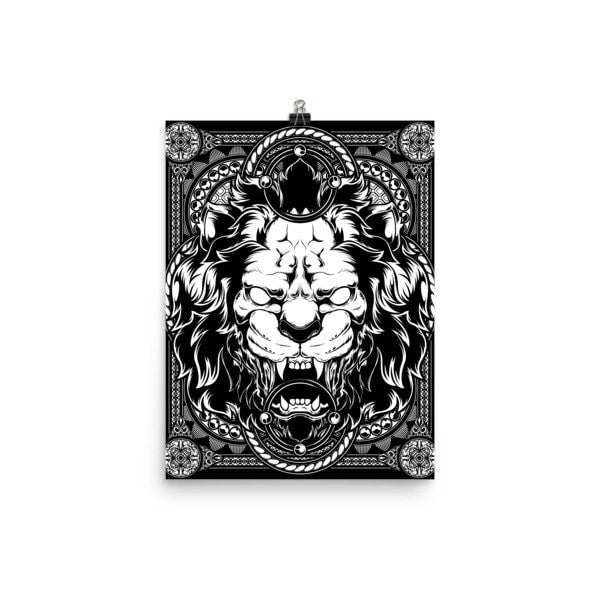 Lion abyss Poster - Hutsylife - 5