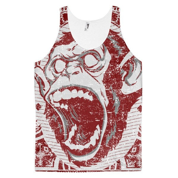 Angry Monkey Classic fit men's tank top - Hutsylife