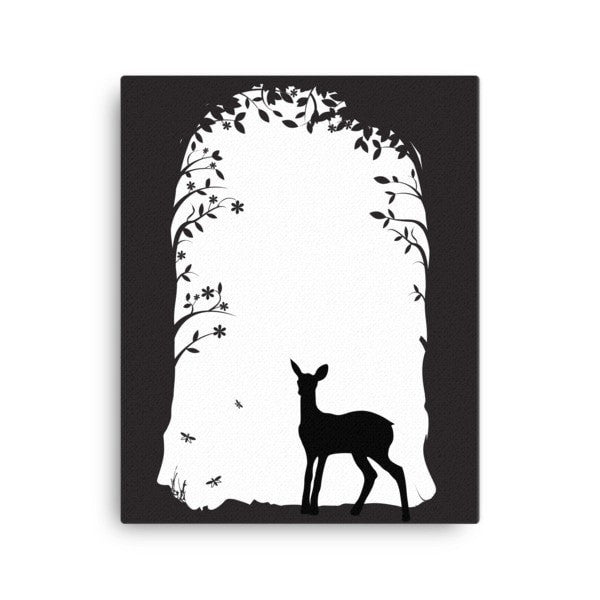 Deer's tunnel Canvas - Hutsylife - 2