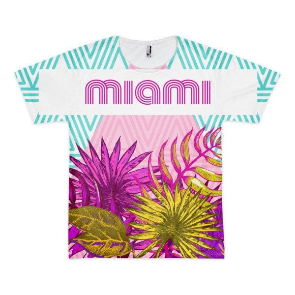 Miami Short sleeve men's t-shirt - Hutsylife