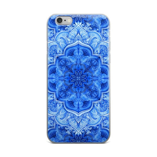Continuous Moroccan floral iPhone case - Hutsylife - 2