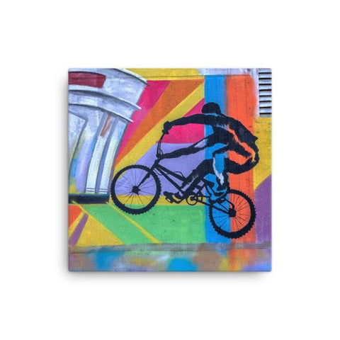 Bike life alter Canvas