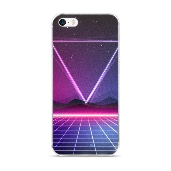80's Tron iPhone case