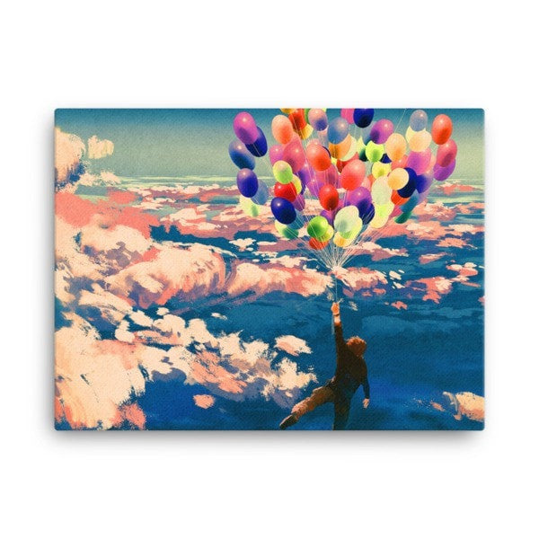 Balloon man Canvas - Hutsylife - 3