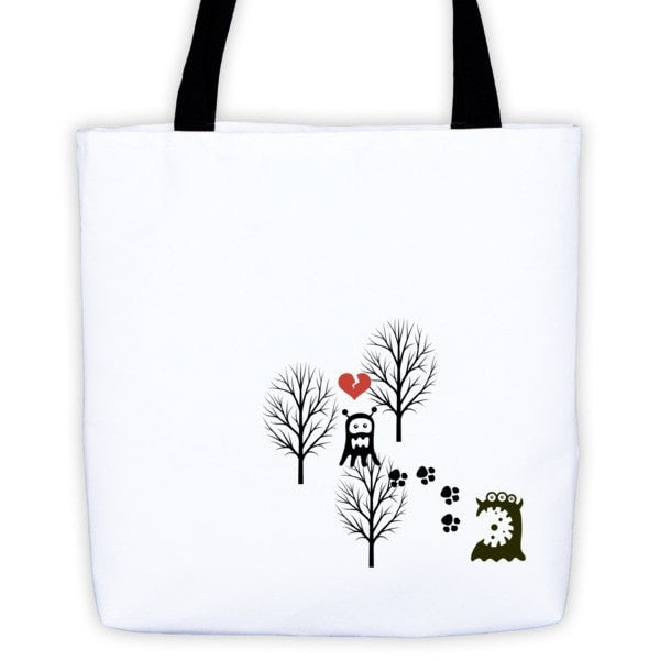 Lost monster Tote bag - Hutsylife