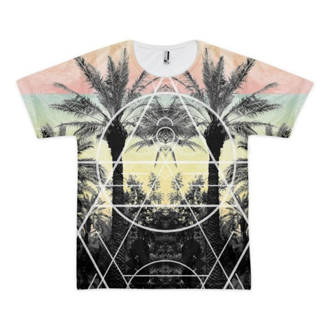 All over print - Palm Reflection Short sleeve men's t-shirt