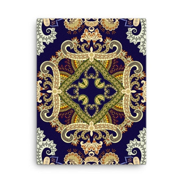 Yellow bandana Canvas - Hutsylife - 3