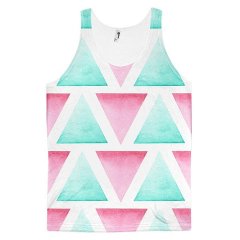 All over print - Blended Classic fit men's tank top