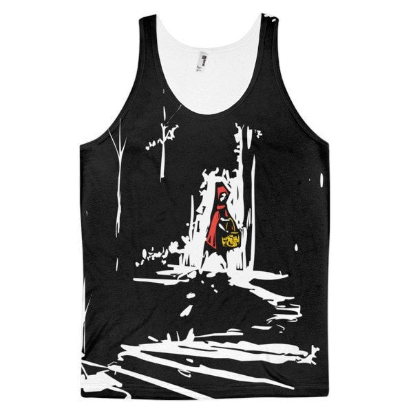 Red riding hood Classic fit men's tank top - Hutsylife