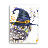 Owl wizard Canvas - Hutsylife - 3
