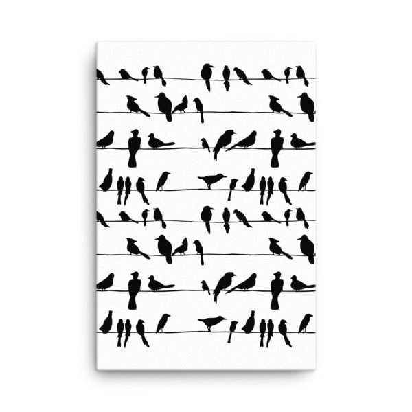 Bird talk Canvas - Hutsylife - 4