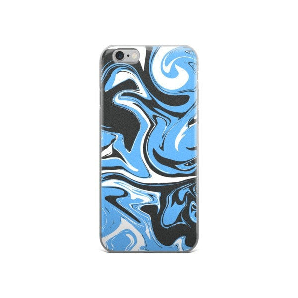 Blue marble swirl iPhone case - Hutsylife - 3