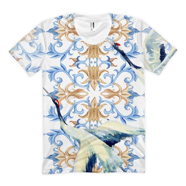 All over print - Crane Pillar Women's sublimation t-shirt