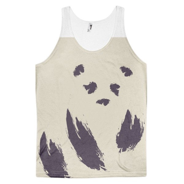 Invisible panda Classic fit men's tank top - Hutsylife
