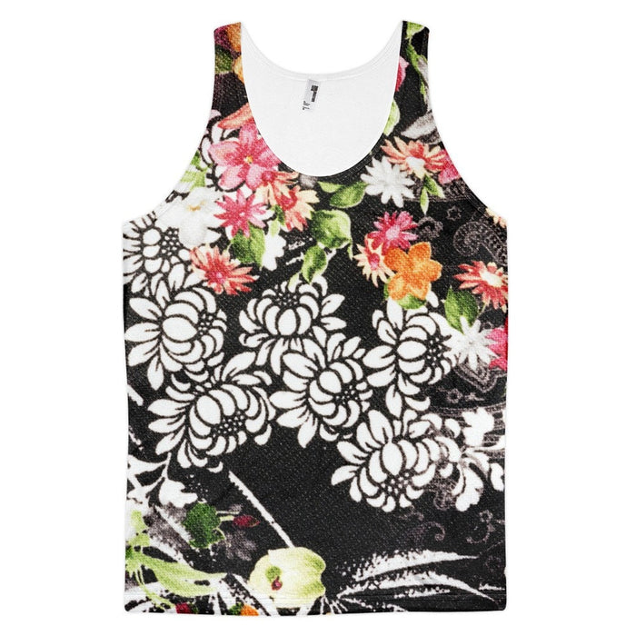 All over print - Bloomin brush Classic fit men's tank top
