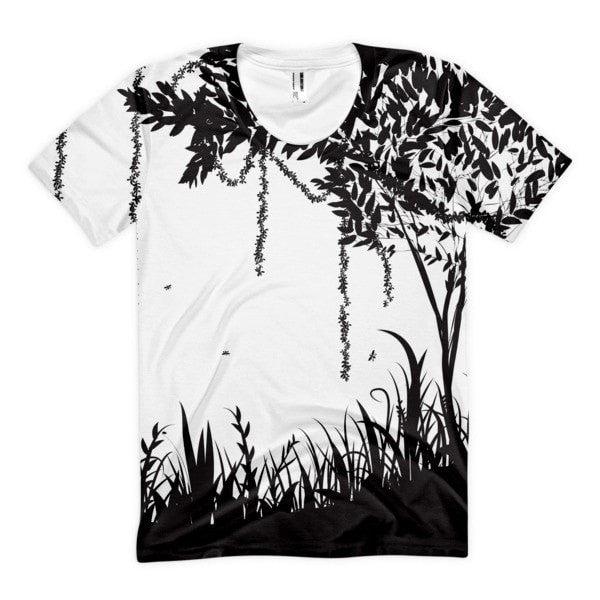 Rain forest Women's Sublimation T-Shirt - Hutsylife