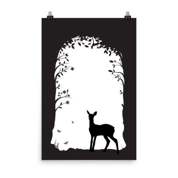 Deer's tunnel Poster - Hutsylife - 5