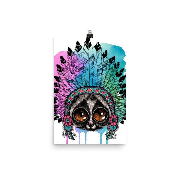 Loris headress Poster - Hutsylife - 7