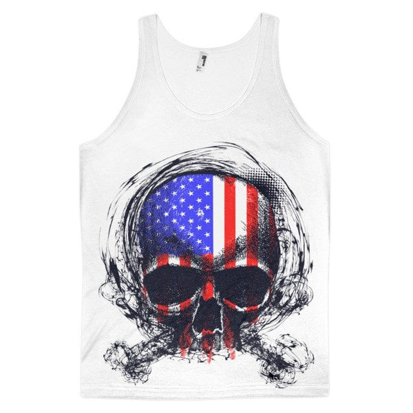 United Skull Classic fit men's tank top - Hutsylife