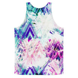 All over print - Spring floral Classic fit men's tank top - Hutsylife - 2