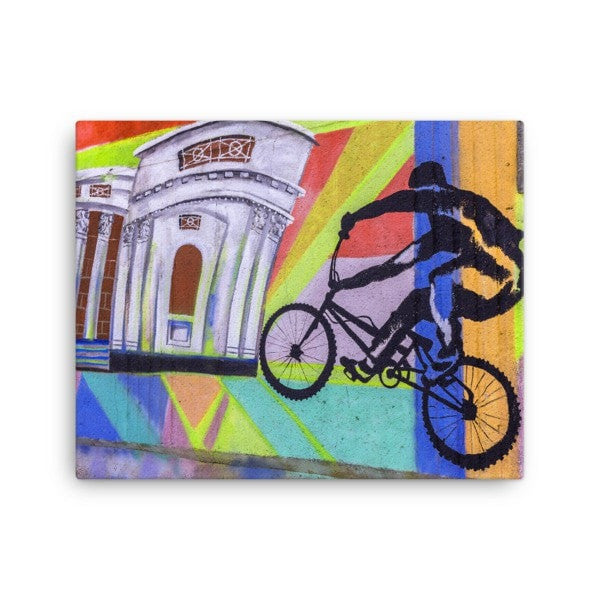 Bike life Canvas - Hutsylife - 2