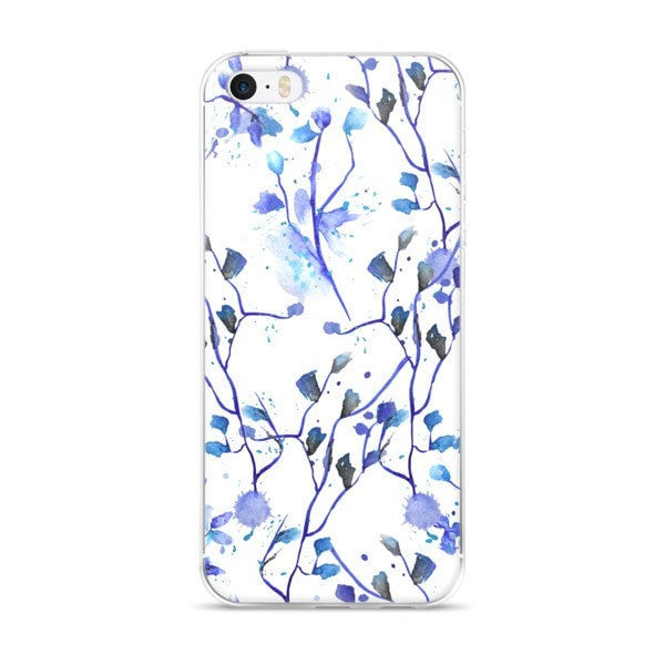 Blue vine iPhone case