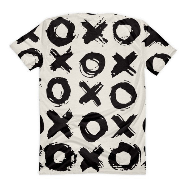 All over print - XO Women's sublimation t-shirt - Hutsylife - 2
