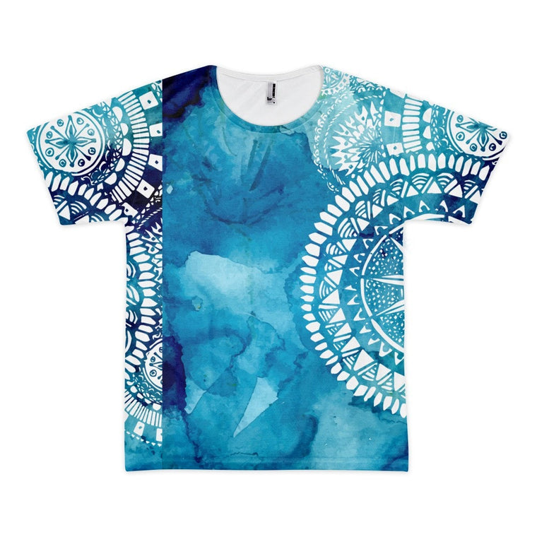 All over print- Blue Veritas Short sleeve men's t-shirt