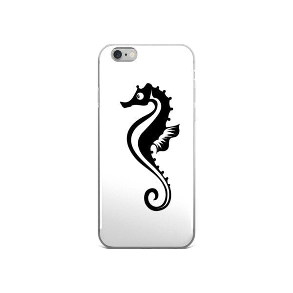 Black Seahorse iPhone case - Hutsylife - 3