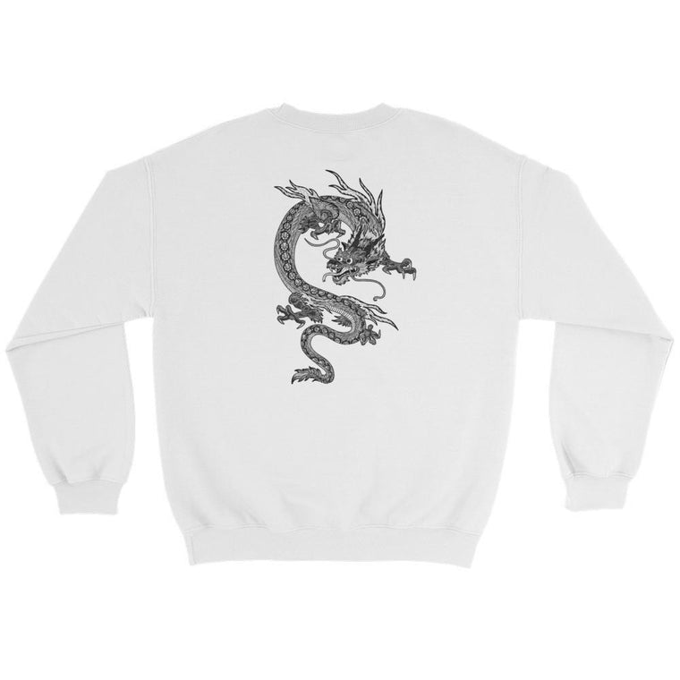 Hutsylife Crew - Dragon's Tail (Back print)