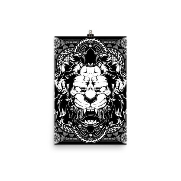 Lion abyss Poster - Hutsylife - 7