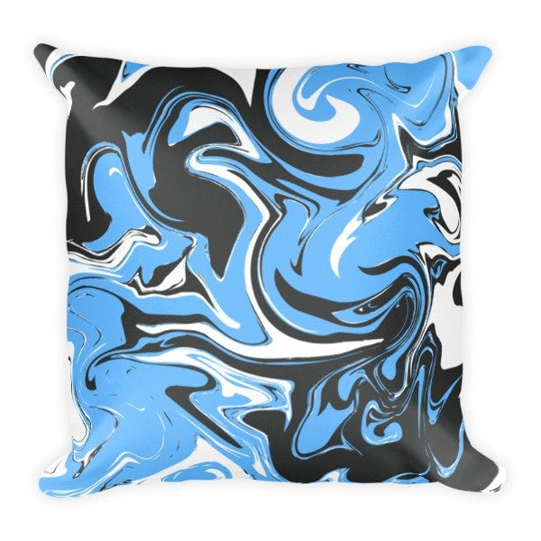 Blue marble swirl Pillowcase - Hutsylife - 2