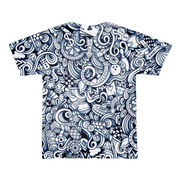 All over print - Vegas life Short sleeve men's t-shirt - Hutsylife - 2