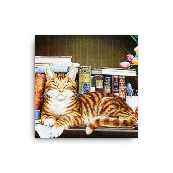 Cool cat Canvas - Hutsylife - 1
