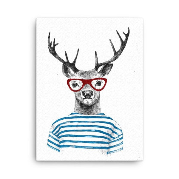 Deer stripes Canvas - Hutsylife - 2