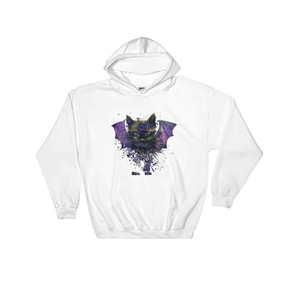 Bat Cat Hooded Sweatshirt