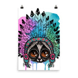 Loris headress Poster - Hutsylife - 8