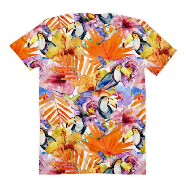 All over print - Toucan Sam Women's sublimation t-shirt - Hutsylife - 2
