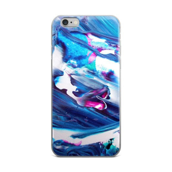 Acrylic blue iPhone case - Hutsylife - 2