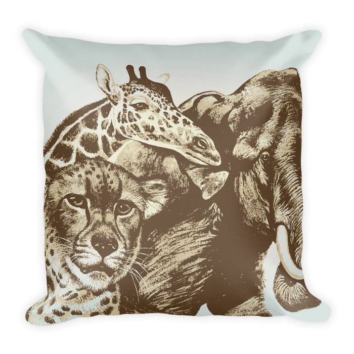 African Expedition pillowcase