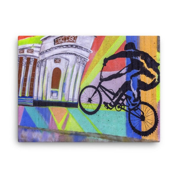 Bike life Canvas - Hutsylife - 3