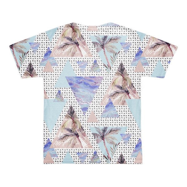All over print - Summer geometric Short sleeve men's t-shirt - Hutsylife - 2