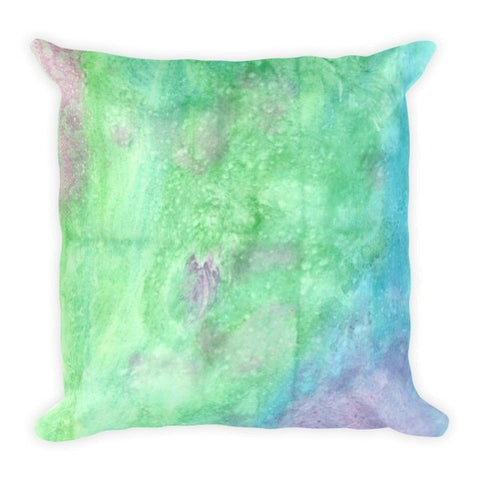 Watercolor green Pillowcase