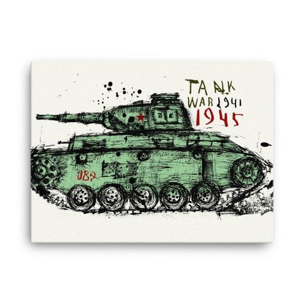 Tank 1945 Canvas - Hutsylife - 2