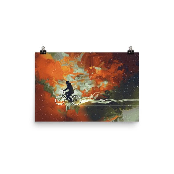 Bicycle man Poster - Hutsylife - 7