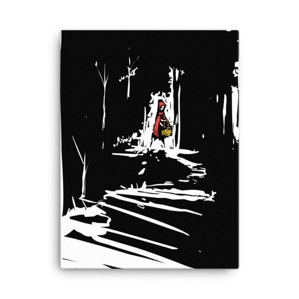 Red riding hood Canvas - Hutsylife - 3