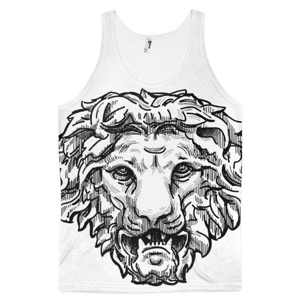 Lion's Demand Classic fit men's tank top - Hutsylife